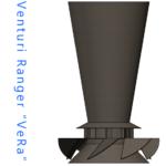 """Venturi Ranger """"VeRa"""" - Głowa Piecyka Do Czystego i Całkowitego Spalania Biomasy - widok A"""