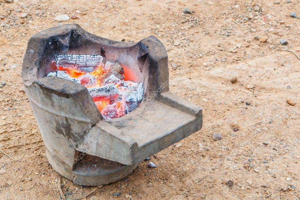 Charcoal stove - 1