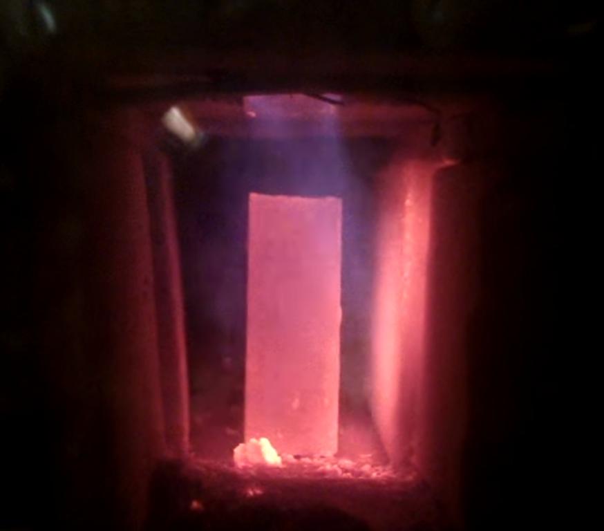 Wzorzec płomienia – amatorska komora zgazowująca drewno - Barrel stove
